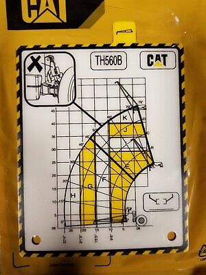 Genuine Caterpillar Cat Th560b Telehandler Liftload Extension Decal248-0113