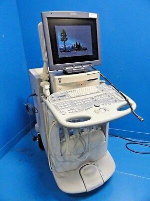 2007 Siemens Acuson Sequoia C512 Ultrasound W 4c1 4v1c Te-v5ms Probe15873