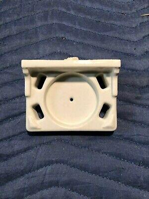 Vtg Ceramic Porcelain Tile In Toothbrush Cup Holder Fixture White