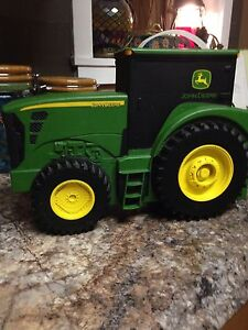 John Deere toy car holder