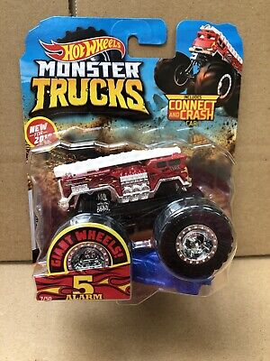HOT WHEELS DIECAST MONSTER TRUCKS - 5 Alarm - Combined Postage