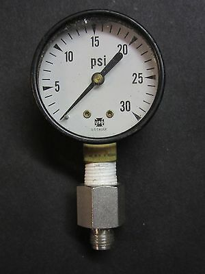 Us Gauge 0-30psi Pressure Gage Dial No. 12106 Used
