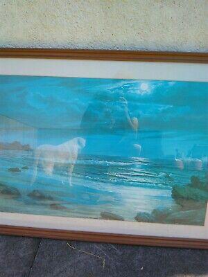 Vintage Sea Scape print by kieth english