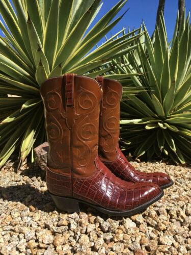 Lucchese, Handmade, Mens, Caiman, Cowboy, Boots, SZ, 10.5E, , L653824, , , , (J77)