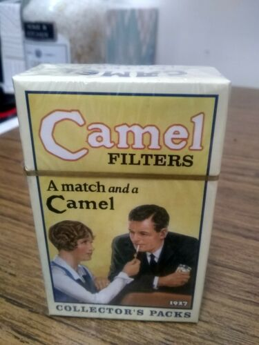 Vintage Camel Cigarette Collectibles 1927 Match A Camel Filters Hard Pk - $7.00