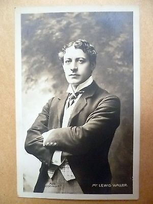 Real Photo Postcard- Theater Actors MR LEWIS WALLER, No. A83