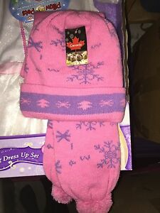 BNWT Childs scarf and hat set
