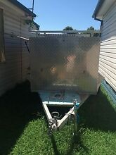 Tradesman Trailer with solar panels and fridge. Shoalhaven Heads Shoalhaven Area Preview