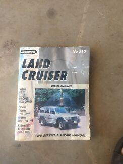 Toyota landcruiser work shop manual