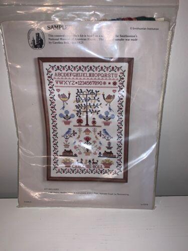 Smithsonian Cross Stitch Sampler American History Carolina B