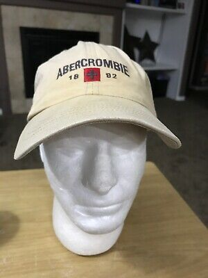 Abercrombie And Fitch Faded Rugged Baseball Cap