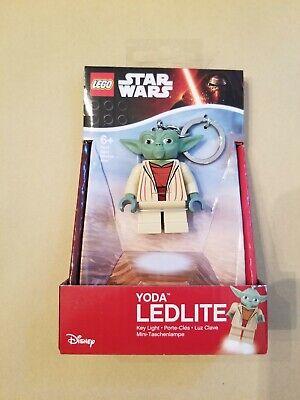 LEGO Star Wars YODA LED LITE KeyChain Key Light  Flashlight