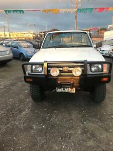 1998 Toyota Hilux  Manual Ute Morwell Latrobe Valley Preview