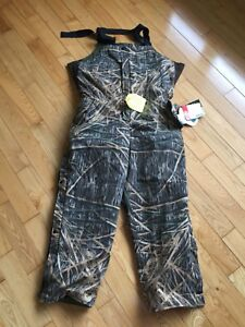 NWT Canadian Made Camo Pants Windproof Waterproof Breathable
