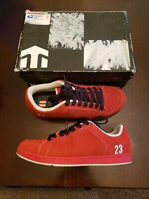 Vintage Etnies x In4mation Sal Barbier 23 Chicago Red Skateboarding US 11 in Box