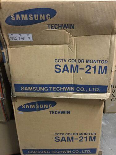 "Samsung CCTV Color Monitor- 21"""
