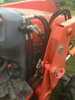 Remote Hydraulic Kit - Kubota L Series Tractors Simple 30 Minute Install