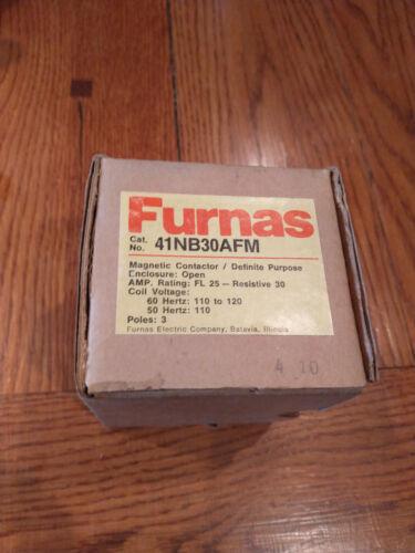 Furnas Definite Purpose Magnetic Contactor 41NB30AFM - NIB