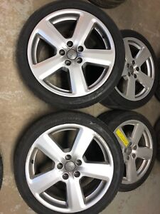 235/40/ZR18 Audi A4 Rims and Tires