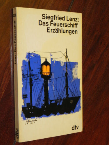 Siegfried Lenz - Das Feuerschiff / Erzählungen (dtv Tb, 1972)