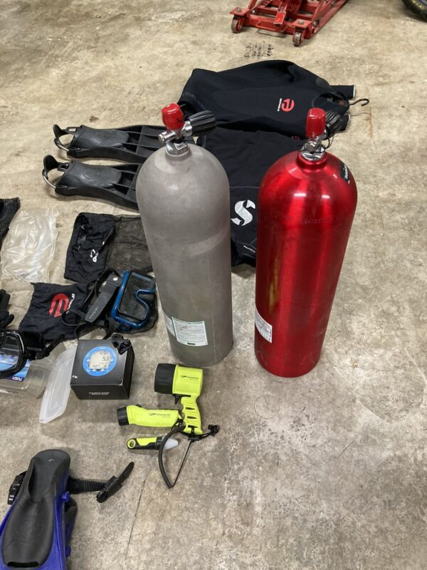 scuba gear used With New Items As Well