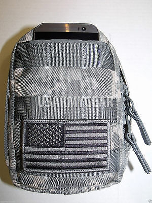 NEW Made in USA ACU MOLLE ll US.Army Leaders Utility  Admin Pouch Set w Inserts