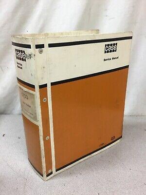 Oem Case 1700 Uni-loader Service Manual Shop Repair Overhaul