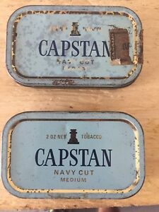 Antique/ vintage capstan tin