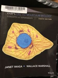 Karp's cell and molecular biology eighth edition