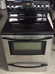 Frigidaire gallery convection range and over-range microwave