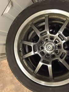 17 in konig rims and tires !