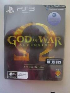 God Of War: Ascension Special Edition For PS3 ***BRAND NEW*** Campbell North Canberra Preview