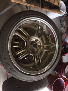 18 inch staggered rims RS rims 5x114.3