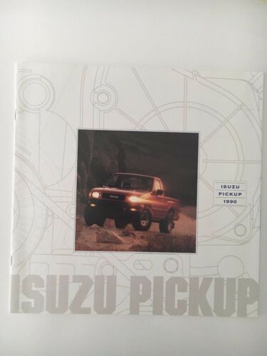 1990 Isuzu Pickup Brochure Catalog Original Vintage
