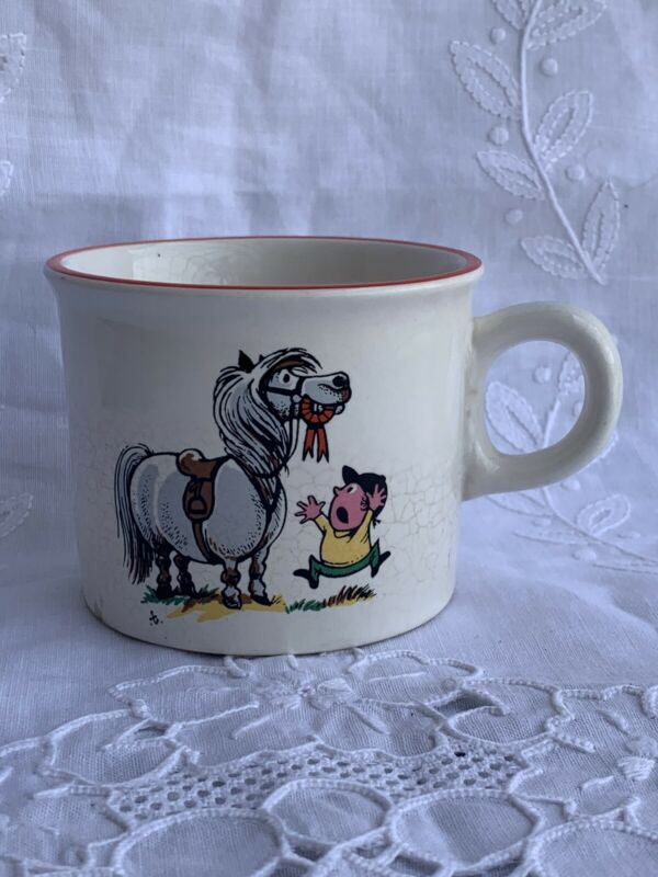 Vintage Norman Thelwell Childrens Cup