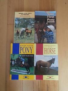 4 HORSE/PONY HARDBACK TEXT, REFERENCE BOOKS Ocean Reef Joondalup Area Preview