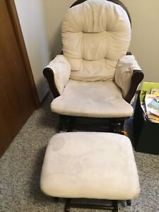 Microsuede Rocking Chair & Ottoman
