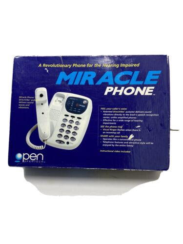 miracle phone for the hearing impaired visual
