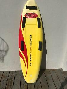 "1 x Kirra Club Trainer 5'5"" Surf Club Nipper Board Russell Lea Canada Bay Area Preview"