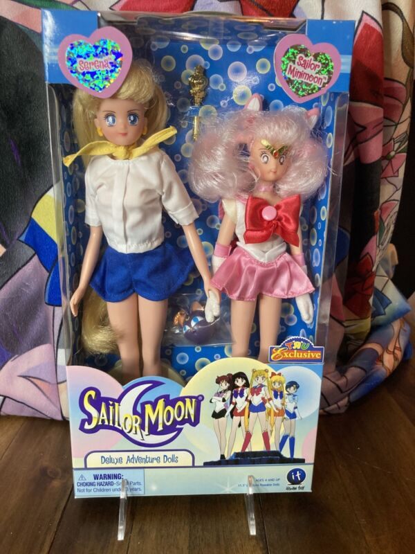 Serena Sailor Minimoon Irwin Deluxe Adventure Dolls 2Pack 11.5 In 2001 Toys R Us