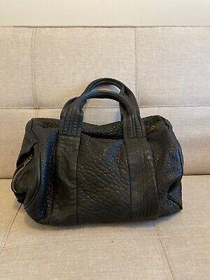 Black Leather ALEXANDER WANG ROCCO Bag Handbag Studs