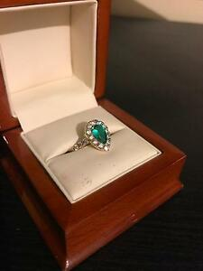 Emerald engagement ring Wallsend Newcastle Area Preview