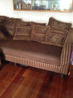 Far Pavillion Brown Daybed Lounge & Ottoman Underwood Logan Area Preview