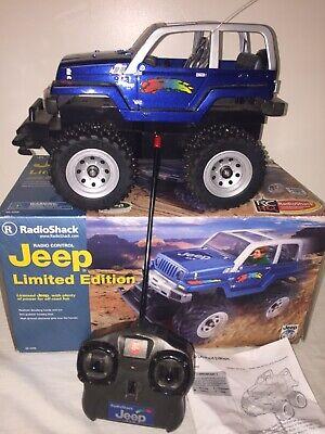 2002 Radio Shack Jeep 4x4 Limited Edition 60-4309 RC Radio Controlled