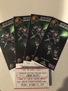4 Knights Vs Flint Club Section Seats with Parking Pass