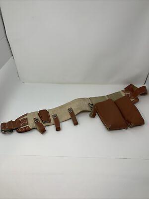 Buckingham Mfg Vintage Lineman Tool Belt Nos