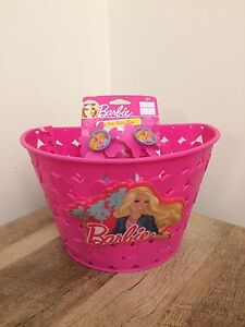 Barbie bike basket and handlebar tassels