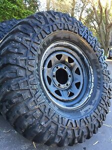 "Muddies,  35"" tyres maxxis mudzillas Campbelltown Campbelltown Area Preview"