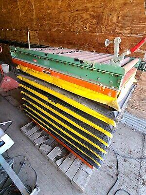 Presto Lee Xs36-10 1000lb Hydraulic Scissor Lift Table With Roller Platform