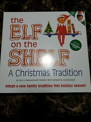 The Elf on the Shelf: A Christmas Tradition (Boy Doll) New In Box